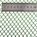 Grillage / caillebotis hexagonal plastifié vert - 9x9 - 25m TRANSPORT OFFERT
