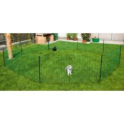 Filet-clôture pour lapin electrifiable 12m