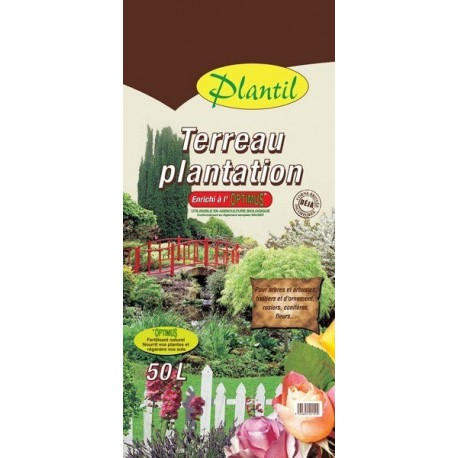 Terreau de plantation 50L