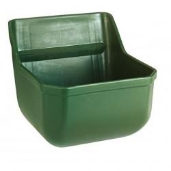 Mangeoire rectangulaire avec rebords anti-gaspillage 15L
