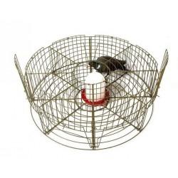 Piège à pie, corbeau ou pigeon rond - 8 cases