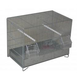 Cage oiseaux galva maxi 39cm