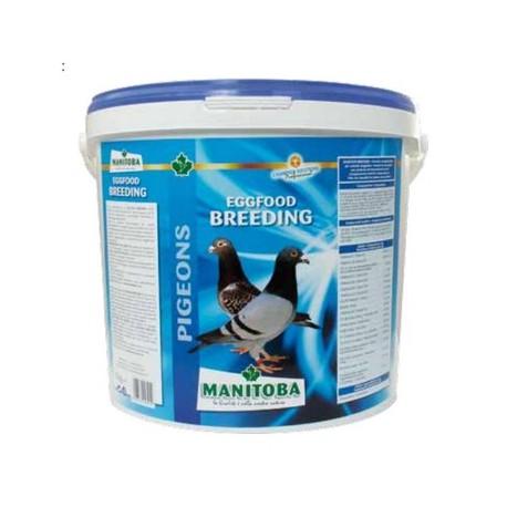 Pâtée d'élevage pour les pigeons - Seau de 5kg