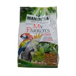 """Mélange extrudés pour perroquets """"My Parrots Unico"""" - 2kg"""