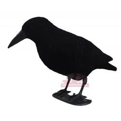 APPELANT corbeau en plastique sur pattes 40cm