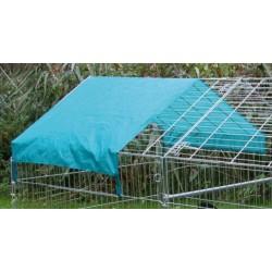 Protection solaire pour parc / enclos extérieur