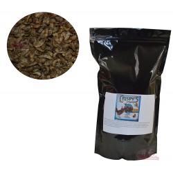 Crispy's larves séchées - 45% de Protéines - 2kg