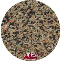 Mélange canaris avec granulé Manitoba