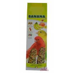 Snack, baguette banane et miel pour canaris - 60g