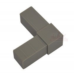"Raccord ""L"" pour tube aluminium"