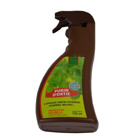 Purin d'ortie, efficace contre pucerons, acariens - Spray de 750ml