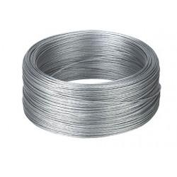 Câble en acier zingué - 200m de longueur