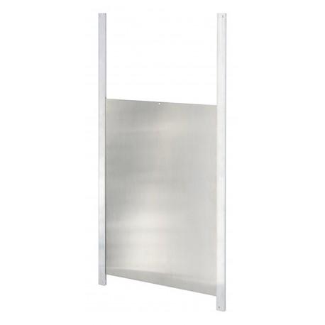 Porte coulissante avec glissière 33cm x 22cm