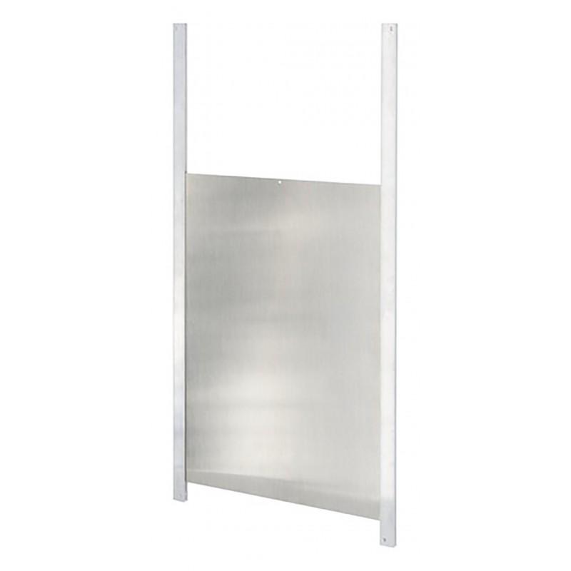 porte coulissante pour les portiers lectroniques de poulailler en bois. Black Bedroom Furniture Sets. Home Design Ideas