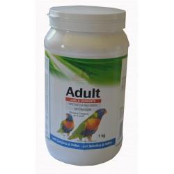 Pâtée d'élevage à la main pour perroquets, Aras - Boite de 1kg