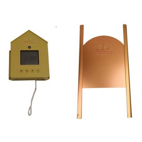 Portier électronique complet crépusculaire ELITE avec porte