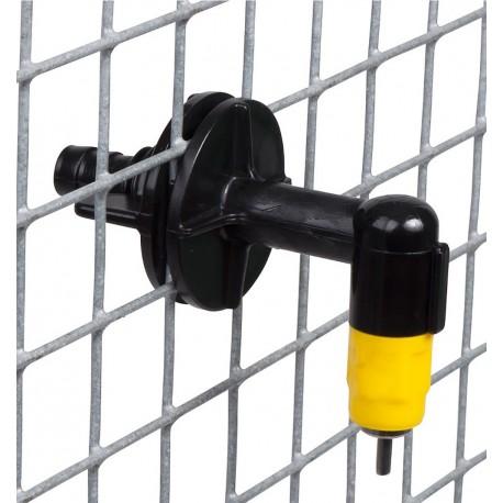 Pipette volaille avec coude pour cages