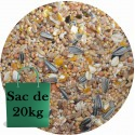 Aliment Oiseaux du ciel HIVER - Seau de 3.5kg