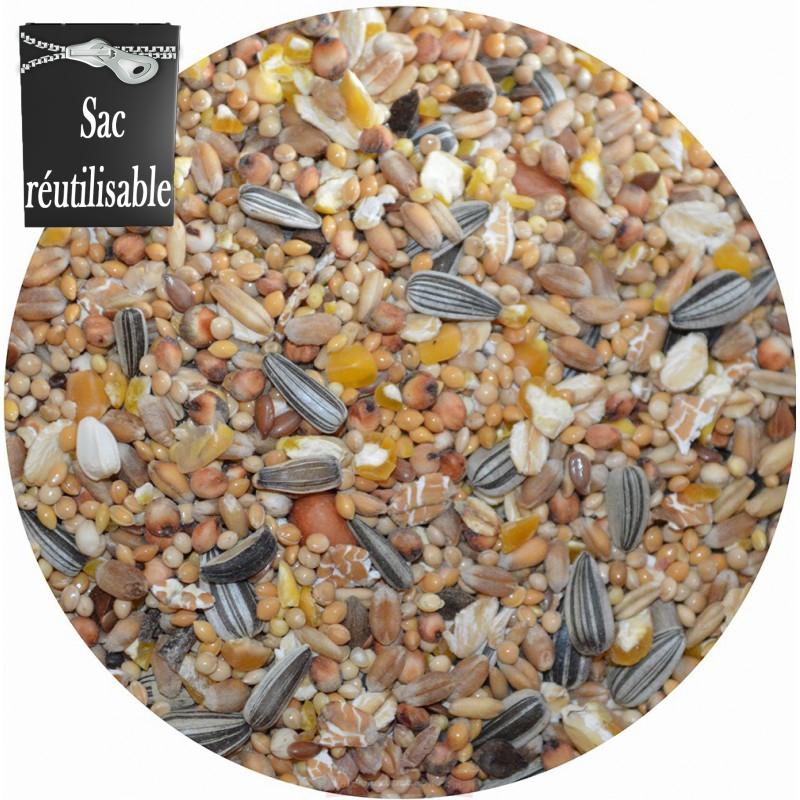 aliment oiseaux du ciel hiver sac de 3kg la ferme de manon. Black Bedroom Furniture Sets. Home Design Ideas