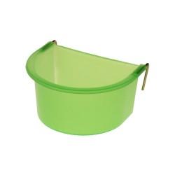 Mangeoire - Abreuvoir vert à crochet 300ml
