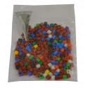 Bagues canaris plastique 2.8mm - lot de 190