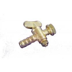Robinet, sortie  de réservoir 9-12mm en laiton