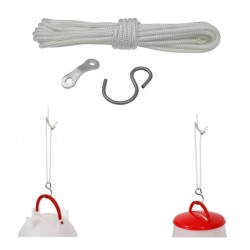 Corde de suspension pour abreuvoir et mangeoire