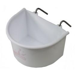 Mangeoire - Abreuvoir à crochet blanc 320ml