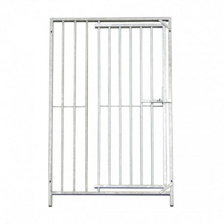 Panneau / grille barreau pour chenil avec porte 200 x 184
