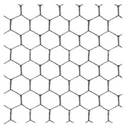GRILLAGE HEXAGONAL 25x25 - 50m - ht 1m
