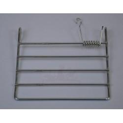 Volet métal grillagé avec ressort
