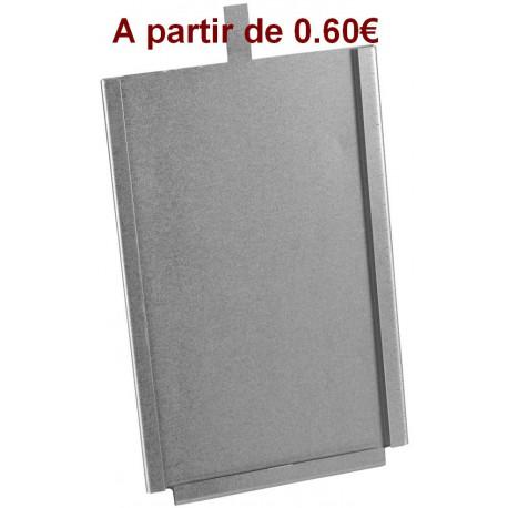 PORTE FICHE métal