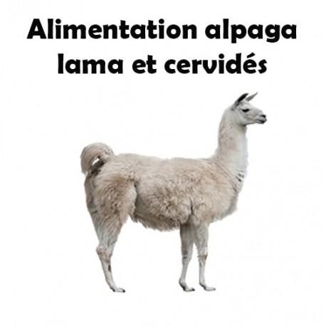 Granulés Alpaga, Lama, cervidés - Sac de 20kg