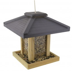 Mangeoire oiseaux en bois Big Ben