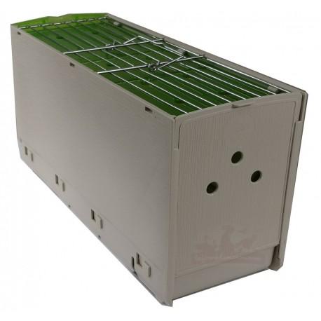 Cage-boite de transport pour oiseaux, grande