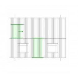 Devanture-façade de cage 60cm x 30cm