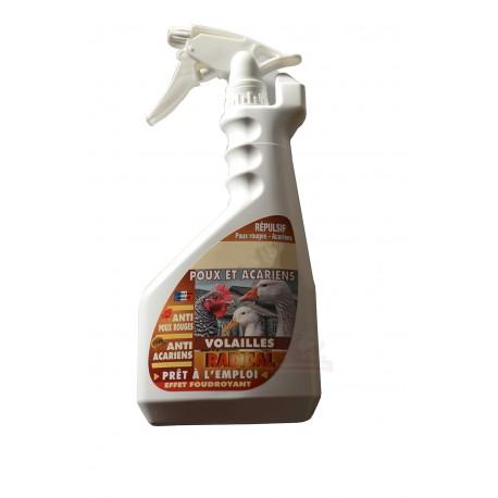 Spray anti-poux et acariens pour volailles - 750ml