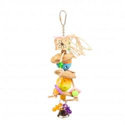 jouet perroquet - perchoir perroquet - jouet oiseau interactif - jouet pour perruches pas cher