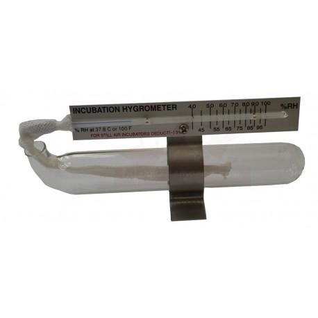 Hygromètre à bulbe facile d'emploi