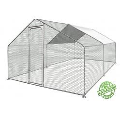 Enclos poule 3m x 4m - Surface 12m²