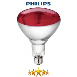 Ampoule Infrarouge verre trempé 250W - PHILIPS