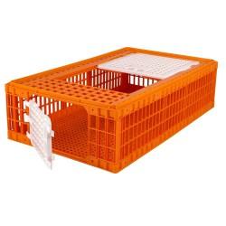 caisse de transport volaille 95x57cm - caisse de transport - cage de transport volaille - caisse de transport canard