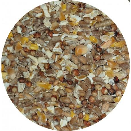 Aliment poule concassé - Sans OGM - Sac de 20kg