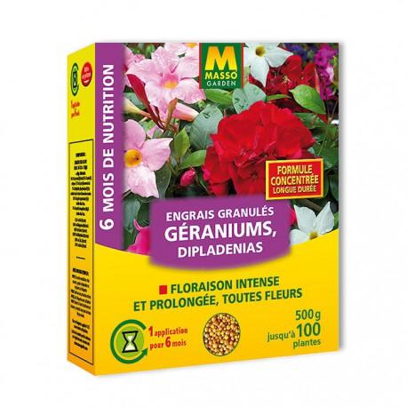 Engrais Géraniums et plantes fleuries - 500g