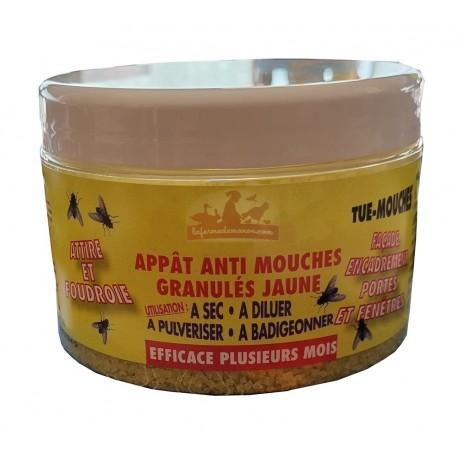 Granulés jaune - Appât anti-mouche - 250g