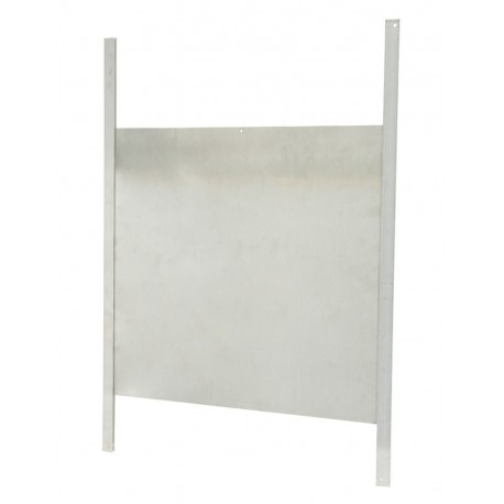 Porte coulissante avec glissière 43x40cm pour portier
