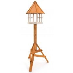 mangeoire oiseaux sur pied - nichoir oiseaux de jardin - abri pour oiseau du jardin