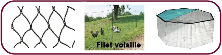 Filet, clôture