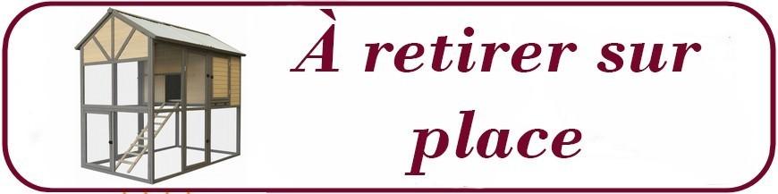 Poulailler A EMPORTER - Retrait GRATUIT