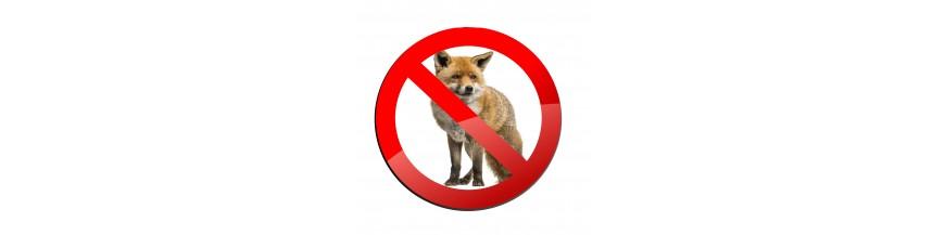 Piège à fauves, renards